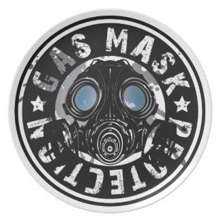 GAS_MASK_PROTECTION PARTY PLATES
