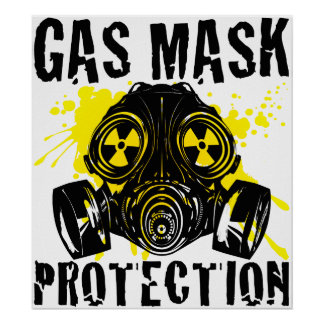 GAS_MASK_PROTECTION PÓSTER