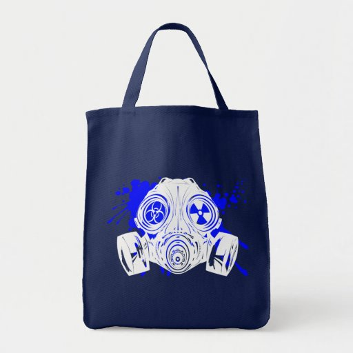 GAS_MASK_PROTECTION TOTE BAGS
