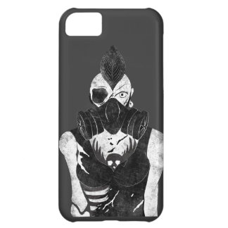 Gas Mask Punk Girl Cover For iPhone 5C