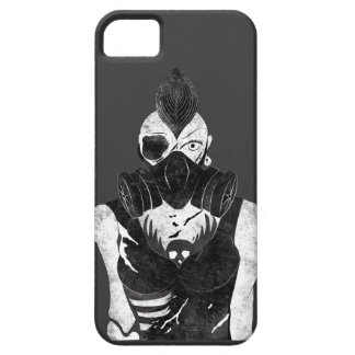 Gas Mask Punk Girl iPhone SE/5/5s Case