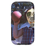 Gas mask red ball galaxy s3 cover