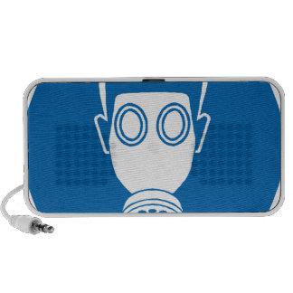 Gas Mask Sign Travel Speaker