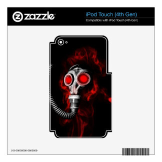 Gas mask skin for iPod touch 4G