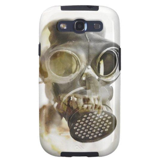 Gas Mask Skull Galaxy Case