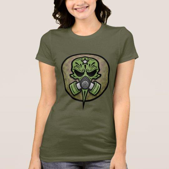 Gas Mask Sugar Skull T-Shirt