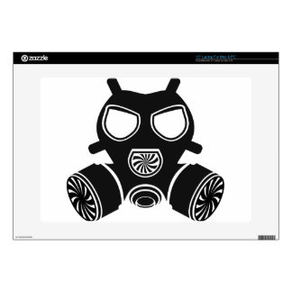 Gas mask vector skins for laptops