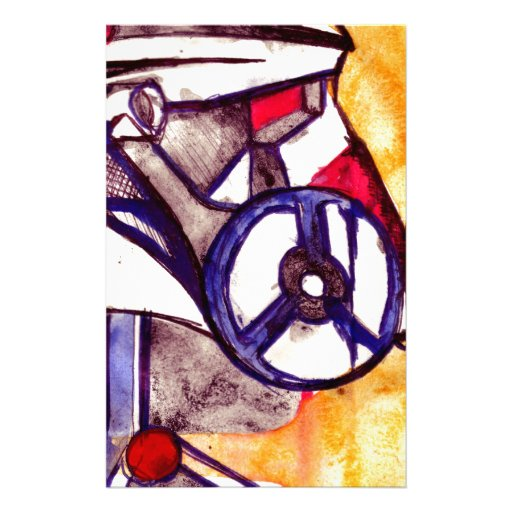 Gas Masked Soldier V2 Personalized Stationery