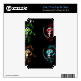 Gas masks decal for iPod touch 4G