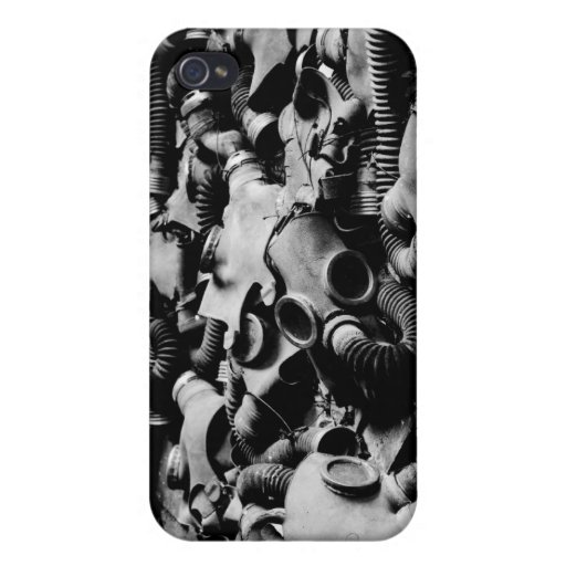 Gas Masks iPhone 4/4S Cases
