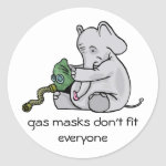 Gas Masks Sticker