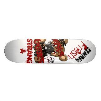 Gas Masks & Teddy Bears Skateboard