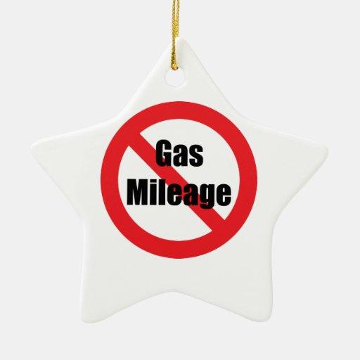 Gas Mileage Ornaments