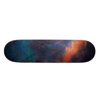 Gas Plume Near the Edge of the Orion Nebula Skateboards