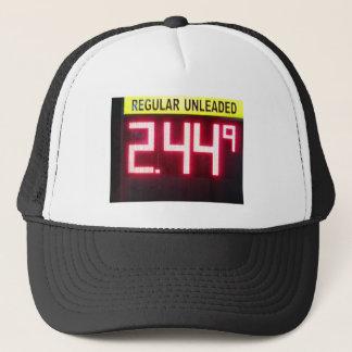Gas Price Sign. Trucker Hat