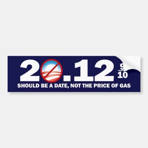 Gas Prices - Anti Barack Obama Bumper Stickers
