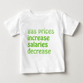 Gas Prices Baby T-Shirt