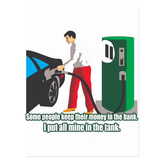 Gas Prices Postcard