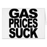 Gas Prices Suck Cards