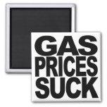 Gas Prices Suck Refrigerator Magnet