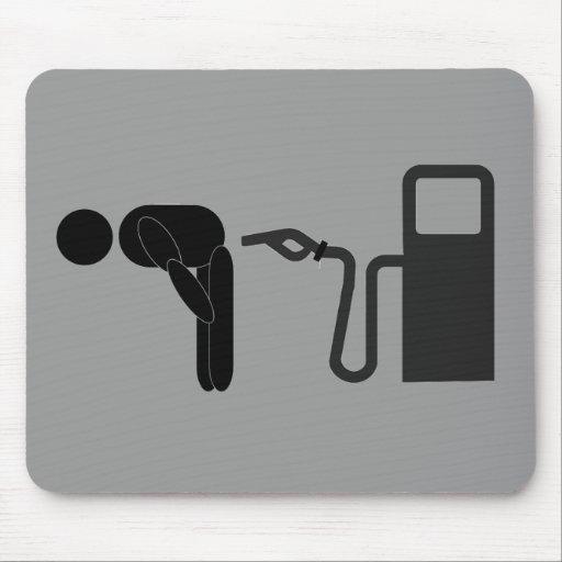 Gas Pump Pain Mouse Pad