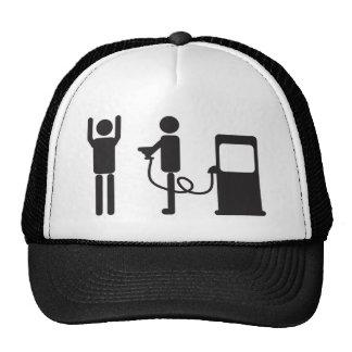 Gas Pump Robbery Trucker Hat
