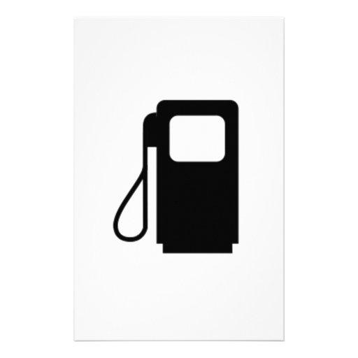 Gas Pump Stationery Design
