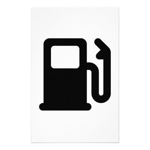 Gas Pump Customized Stationery