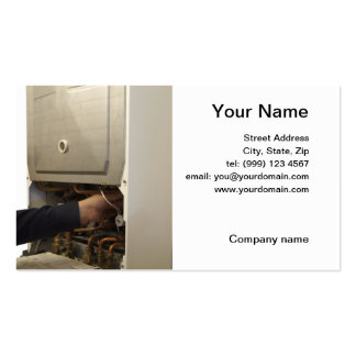 Boiler Business Cards & Templates