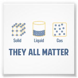 Gas sólido líquido - ellos toda la materia cojinete