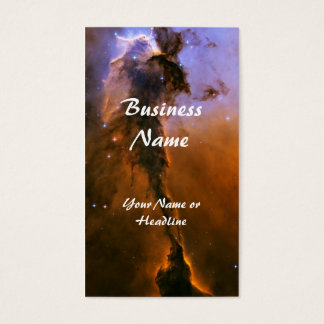 Gas Spire In The Eagle Nebula Business Card
