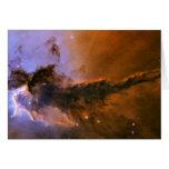 Gas Spire In The Eagle Nebula Greeting Card