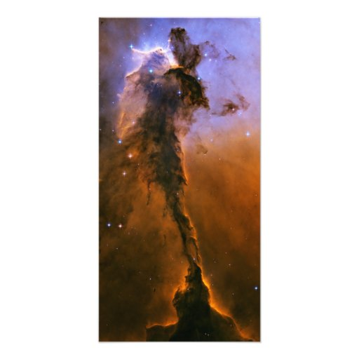 Gas Spire In The Eagle Nebula Photograph