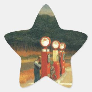 Gas Star Sticker