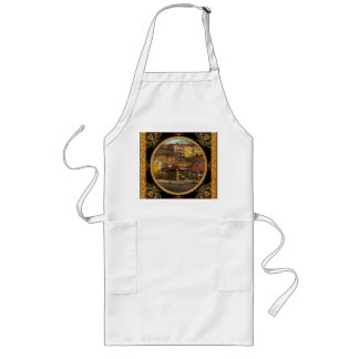 Gas Station - At the end of a day 1925 Long Apron