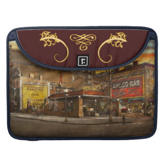 Gas Station - At the end of a day 1925 Sleeves For MacBook Pro