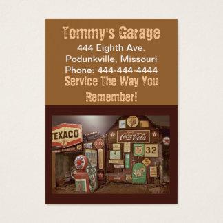 Gas Station / Automotive Business Card