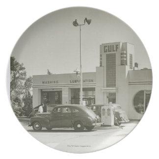 Gas Station Dinner Plates