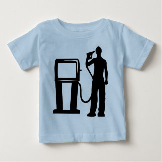 Gas Station Gun In The Head Baby T-Shirt