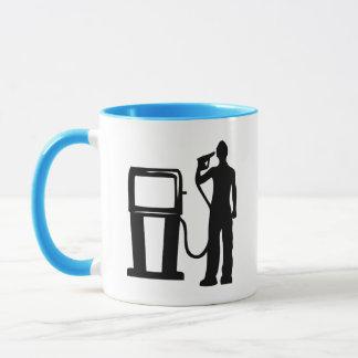 Gas Station Gun In The Head Mug