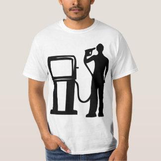 Gas Station Gun In The Head T-Shirt
