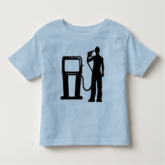 Gas Station Gun In The Head Toddler T-shirt