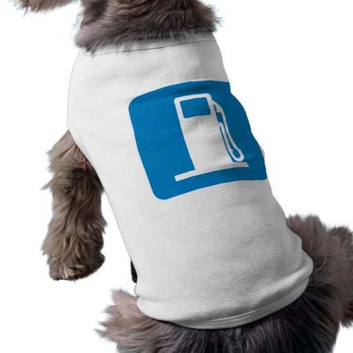 Gas Station Highway Sign Pet Tshirt