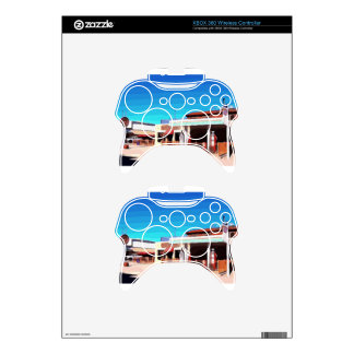 Gas Station in Williams Xbox 360 Controller Skin