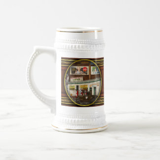 Gas Station - Indian Trails gas station 1940 Beer Stein