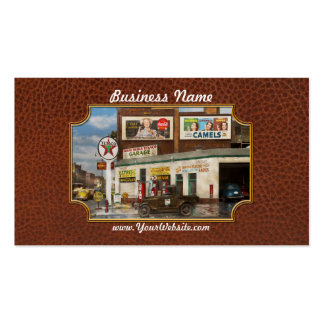 Vintage Gas Station Business Cards and Business Card