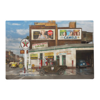 Gas Station - Indian Trails gas station 1940 Placemat