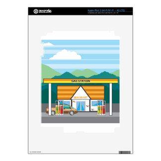 Gas Station iPad 3 Decal