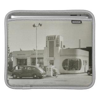 Gas Station iPad Sleeves