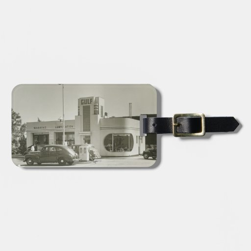 Gas Station Luggage Tags